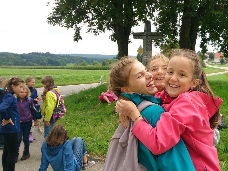 Natur-Action-Woche für Mädchen