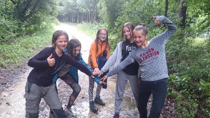 Natur Action Woche für Mädchen