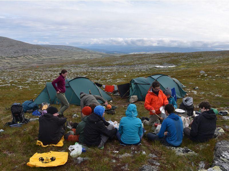 Norwegen Trekking